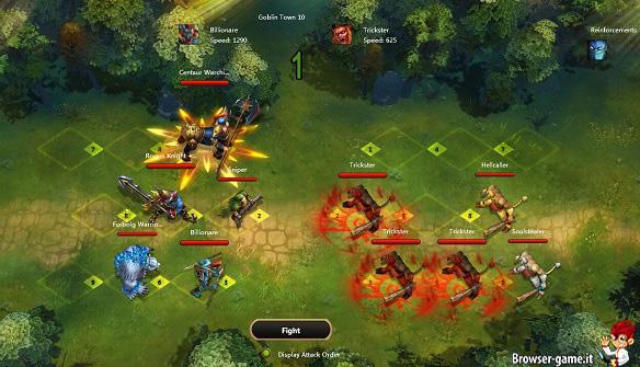 Combattimento Sentinel Heroes