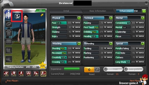 Giocatore Championship Manager Online