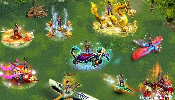 Monte e creature di Mythic Saga