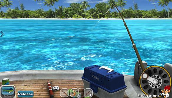 Canna da pesca Fishing Paradise 3D