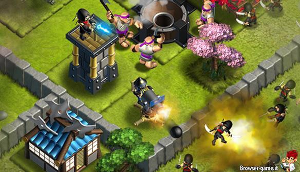 Combattimento Ninja Kingdom
