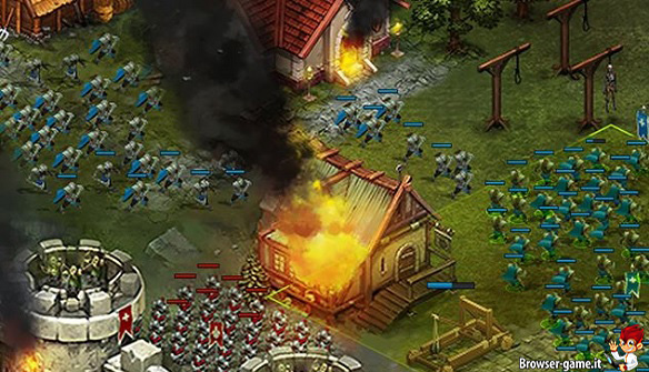 Combattimento Throne Rush