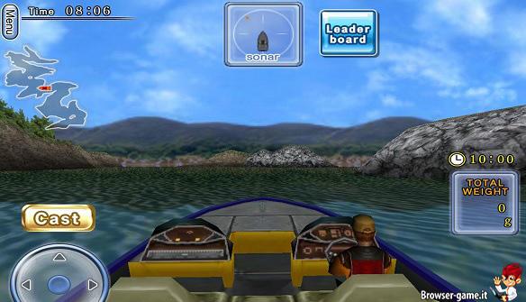Motoscafo Fishing Paradise 3D