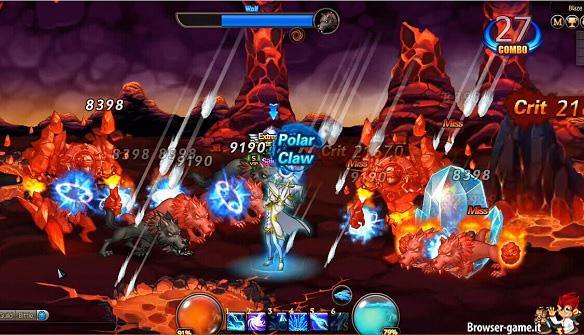 Combattimento contro i mob Crusaders of Solaria