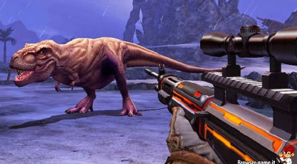 Tirannosauro in Dino Hunter Deadly Shores