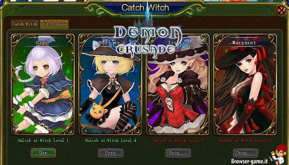 Classi Demon Crusade