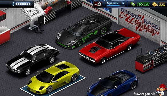 Garage StreetRace Rivals