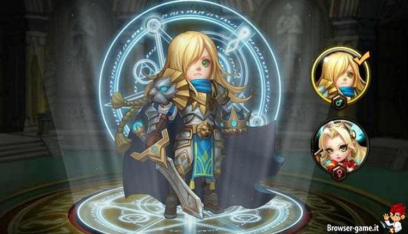 Cavaliere  Hero Commander