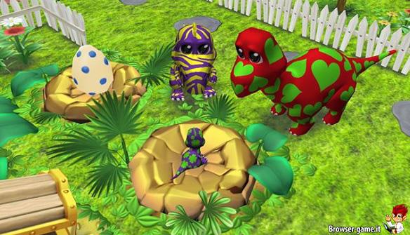 Dinosauri e cucciolo Happy Dinos