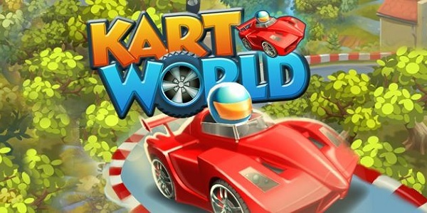 KartWorld: simulatore di corse in stile cartoon