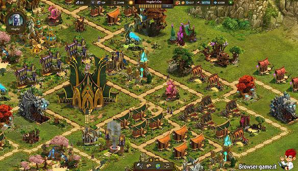 Villaggio elfico Elvenar