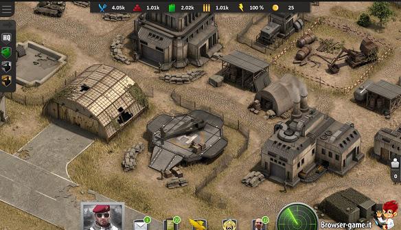 Base militare in Mercenary Inc.