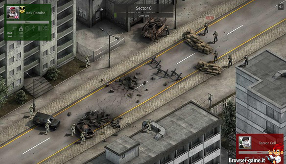 Combattimento in Mercenary Inc.