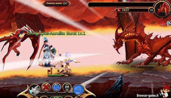 Combattimento Dragon Atlas