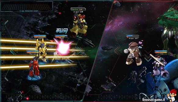 Combattimento in Gundam Online