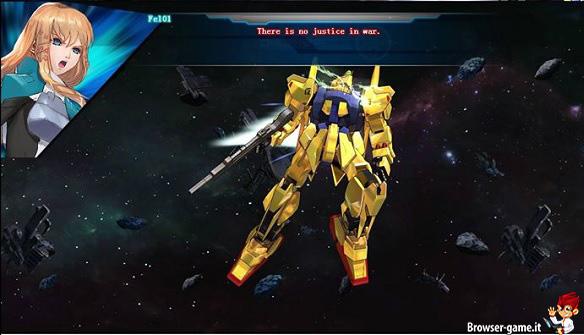 Personaggio mech Gundam Online
