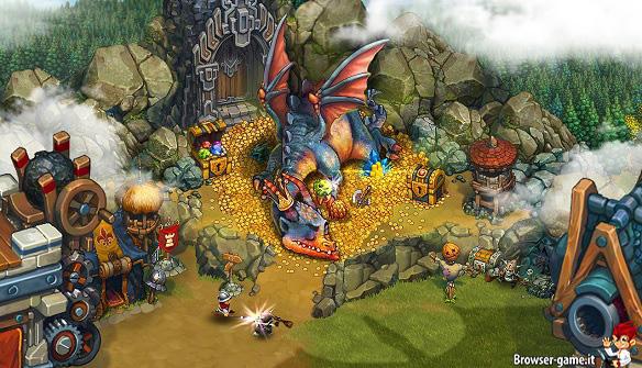 Drago tribez castlez