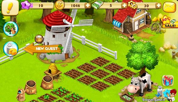 Fattoria e mucca Family Farm