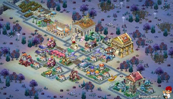 Metropoli Atlantis Fantasy