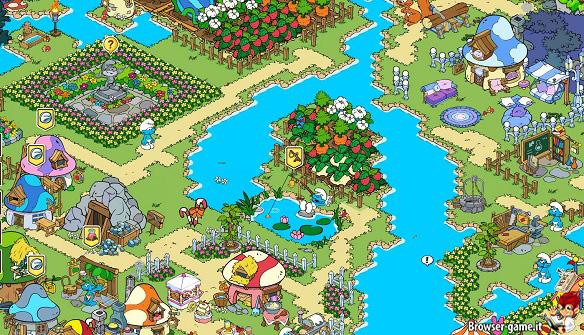 Villaggio The Smurfs & Co Spellbound