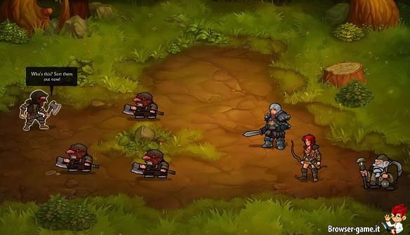 Combattimento guerrieri Brave Tales