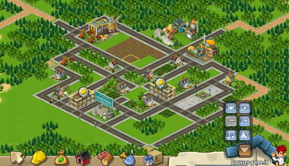 Costruzione città Township