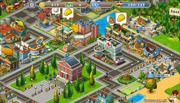 Edifici città Township