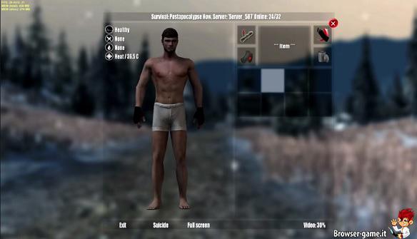 Personaggio Survival
