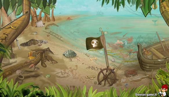 Cerca oggetti nascosti  Pirate Village