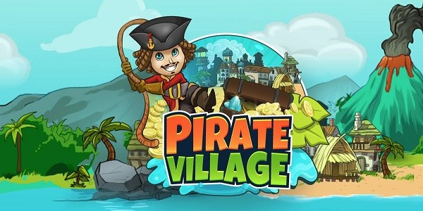 Pirate Village: gestisci un villaggio pirata su un'isola