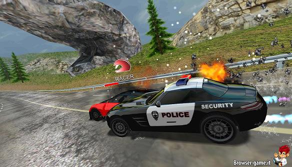 Polizia Racer vs. Cops