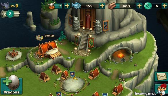 Villaggio Dragons Rise Of Berk
