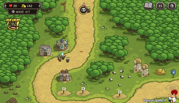 Scenario Kingdom Rush