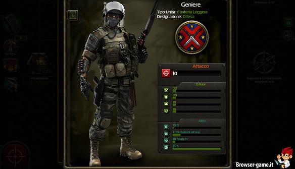 Geniere soldier inc