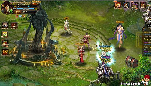 Personaggi League of Angels