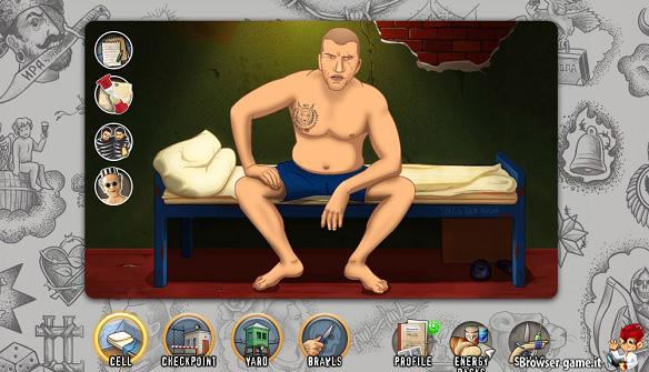 Carcerato personaggio Russian Prison Mafia