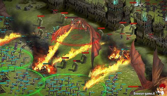 Combattimento con draghi Summoner's Gate