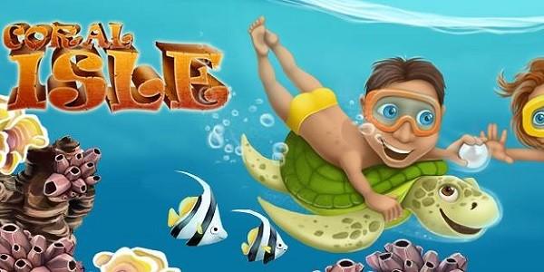 Coral Isle: gioco survival/gestionale su un'isola deserta