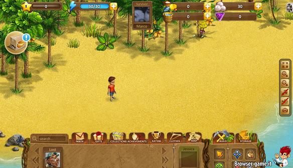 Personaggio Coral Isle