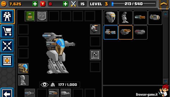 Personalizzazione robot Super Mechs