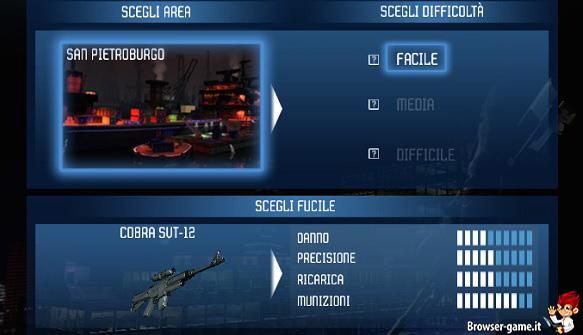 Selezione area Stealth Sniper