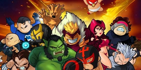 Tiny Mighty Heroes Unite
