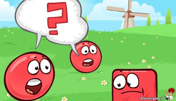 Red Ball animazione