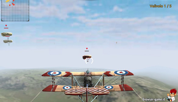 Aereo in volo Air Fighter World War