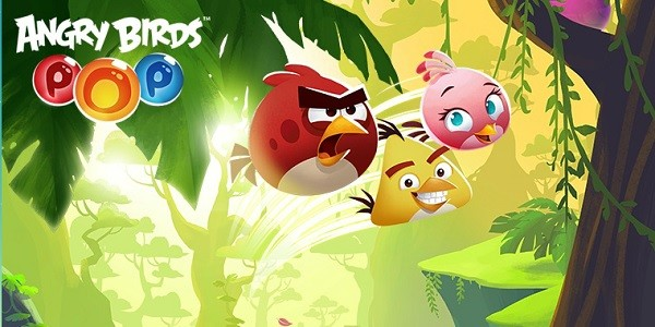 Angry Birds Pop: gioco in stile Puzzle Bobble
