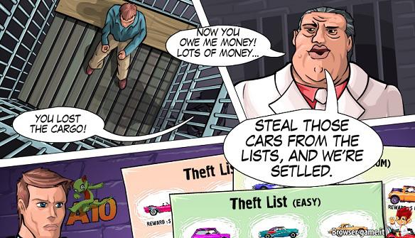 Fumetti Theft Super Cars