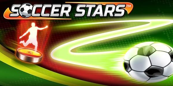 """Soccer Stars: originale gioco di calcio con """"pedine"""""""