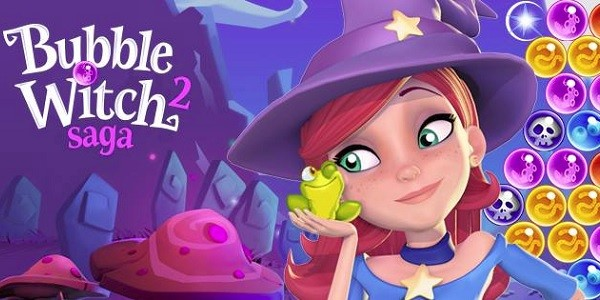 Bubble Witch Saga 2: gioco online simile a Puzzle Bobble