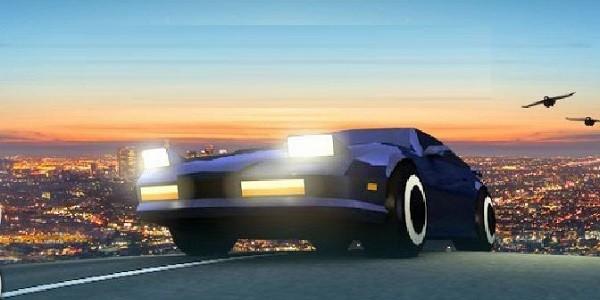 Dusk Drive: mediocre simulatore di guida gratuito
