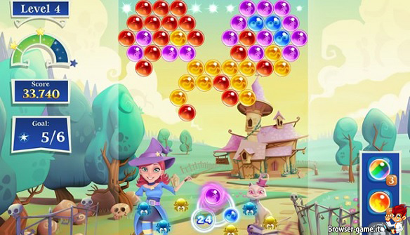Gameplay Bubble Witch Saga 2